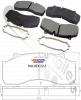 3.057.3179.00 SAF Brake Pads For Haldex ModulT Caliper for 22.5 Brake Disc