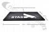 E-73194 Mud Flap 600 x 420mm With STAS Logo