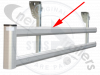 ZBALU3/6000 Stas / Luck Side Guard Impact Rail Horizontal Profile LG:6000mm