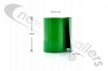 BDICO27003 Moving Headboard or Bulk Head Side Mat PVC Band Green W=160mm L=2500
