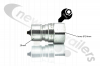 "ANV34M Hydraulic Coupling Quick Release 3/4"" Male A Series ISO With 3/4"" BSP Female Fitting"