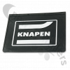 "BDICO32003 Mud Flap For Super Single Mud Wing - Flex Rubber With ""Knapen"" Logo 350 x 450mm"