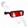 25-2820-407 Aspoeck Tail Lamp EcoFlex II - L/H With 7 Pin Connector & LED Superpoint III Outline Marker