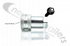 "ANV34F Hydraulic Coupling Quick Release 3/4"" Female A Series ISO With 3/4"" BSP Female Fitting"