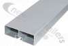 ASGK990/4000AR/73R Side Rail / Guard Horizontal Profile LG: 4000mm