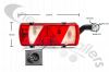 25-2920-407 Aspoeck Tail Lamp EcoFlex II - R/H With 7 Pin Connector & LED Superpoint III Outline Marker