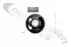 A 946 390 02 50 DCA Mercedes Axle 3D Pivot Eye Bush For TE5 & TE4 Axles