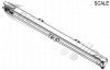 M-55001800 UK Spec STAS Rear Header Bar for Moving Floor Trailers