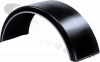 WNGP26A/VG Fruehauf Wing Mudguard with White Piping Without Logo