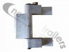 "40AWF-000302-L-01-C Titan Hinge Sub-assembly, left, 1-1/ 4"" pin to suit EXT-HD top rail, flip tarp net system Offside"