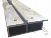 "40AWF-000010-10-A Titan Net System Flip roof main tube 519.25"" long, both sides to suit 44' 6 "" trailer length aluminium flip roof"