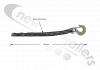 35AWF-000515-012-B Titan Door Safety Chain Assembly GR 30 1/4Length determined at Installation