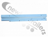 40AWF-000026-03-R-F TITAN Net System Front Roller Channel Right For Aluminium Frame Flip Roof