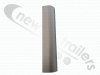 Side Rail Kit Curved Corner Post Side Rail corner profile - 500mm