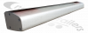 30130287 Knapen NEXT Rear Bumper Profile 180mm Under Run Bar Fits Next generation trailers