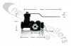 M059853-20 Benalu body tip valve with flatbar