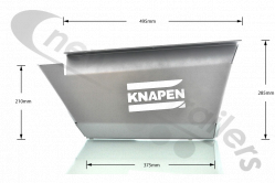 30128724 Knapen Cover Plate, Type 2 - Right