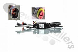 F113209-01 Fruehauf Body Tipped Sensor Kit Complete With Sensor, Wiring & Warning Lamp