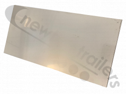"1 x 12"" x 6"" stainless plate  Dawbarn 1 x 12"" x 6"" stainless Strap Wear plate"