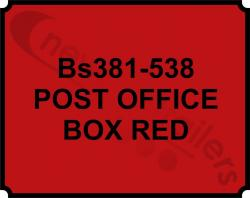 BS 381C Aerosol Paint Can Post Office Red - BS  381C
