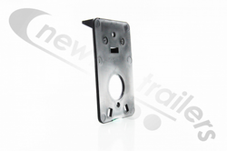 7123A  Rubbolite Side Marker Lamp Vertical Bracket