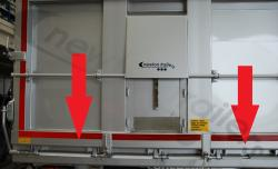 . Fruehauf Door Rear Bottom Profile Horizontal