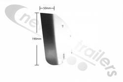 30128774 Knapen NEXT Rear Bumper (Under Run) Cover Plate 180mm - Left