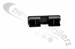 ASGK10030/EC Plastic End Cap Insert for Side Rail Horizontal Profile 100mm x 30mm