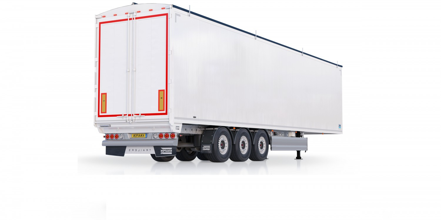Standard Walking Floor® Trailer With Hydraulic Power Pack