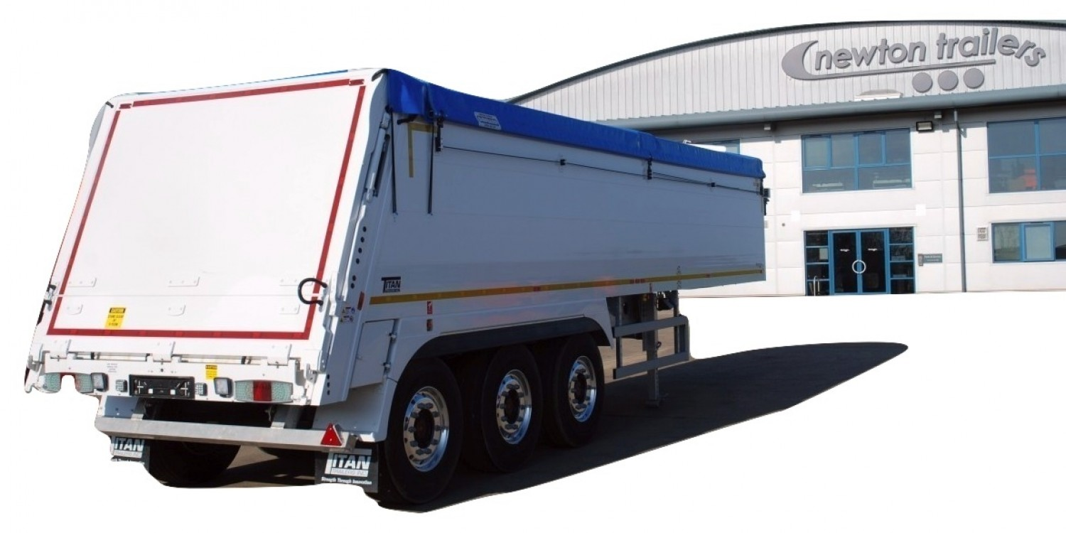 Aggregate Walking Floor® Trailer