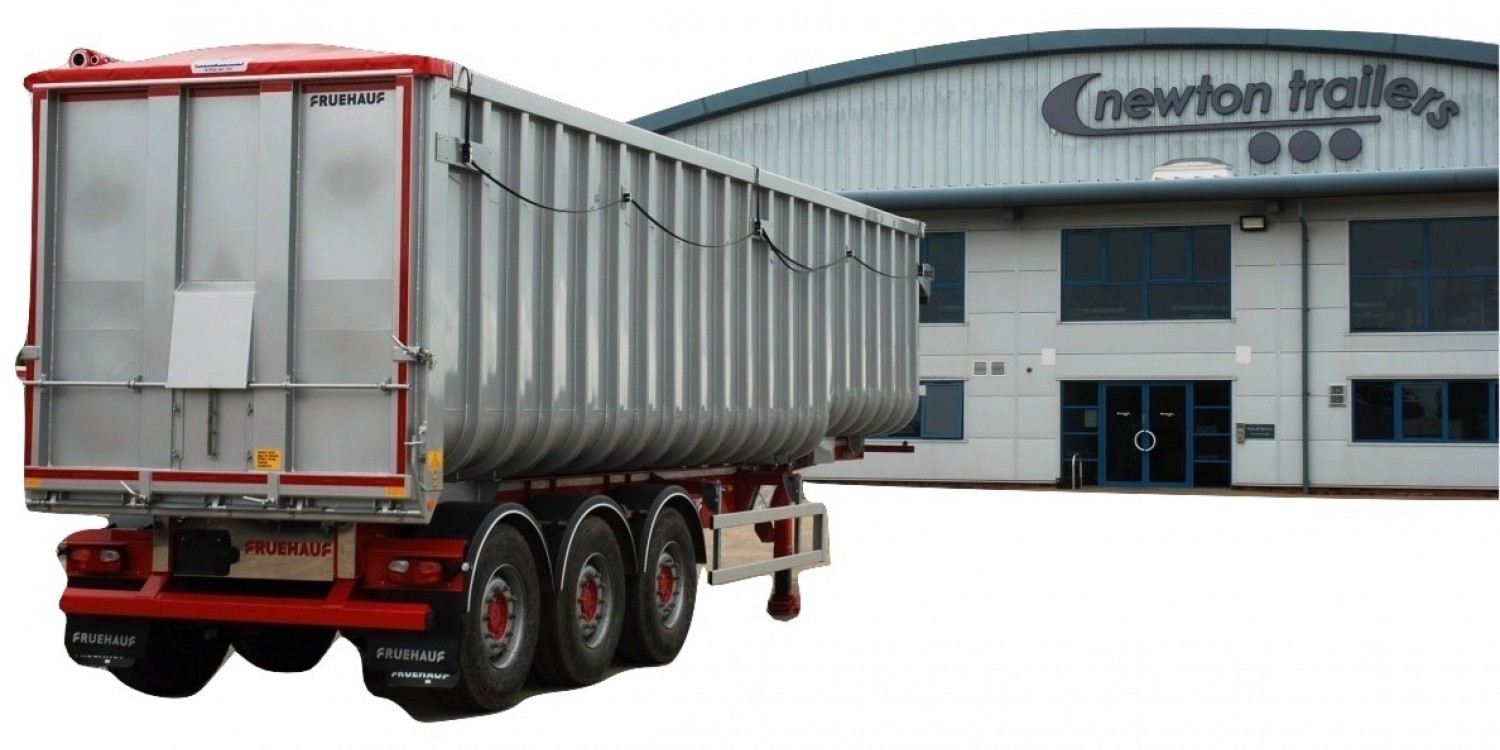 Ribsided Tipping Trailer