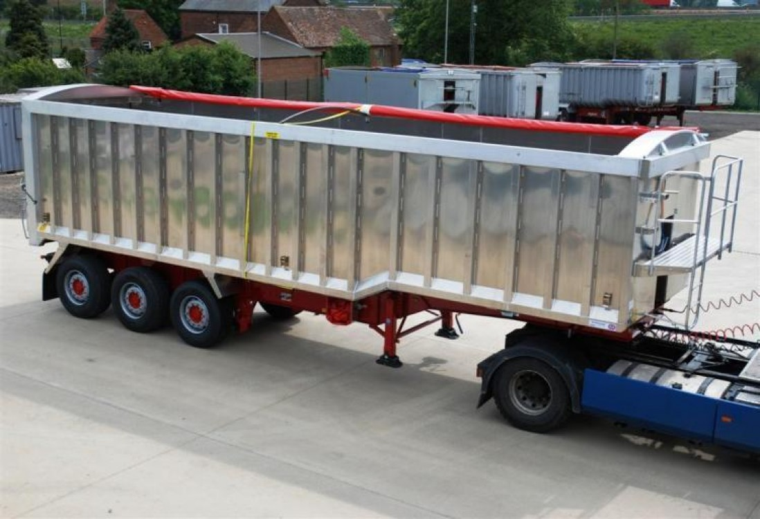 Monocoque Square Shape Tipping Trailer