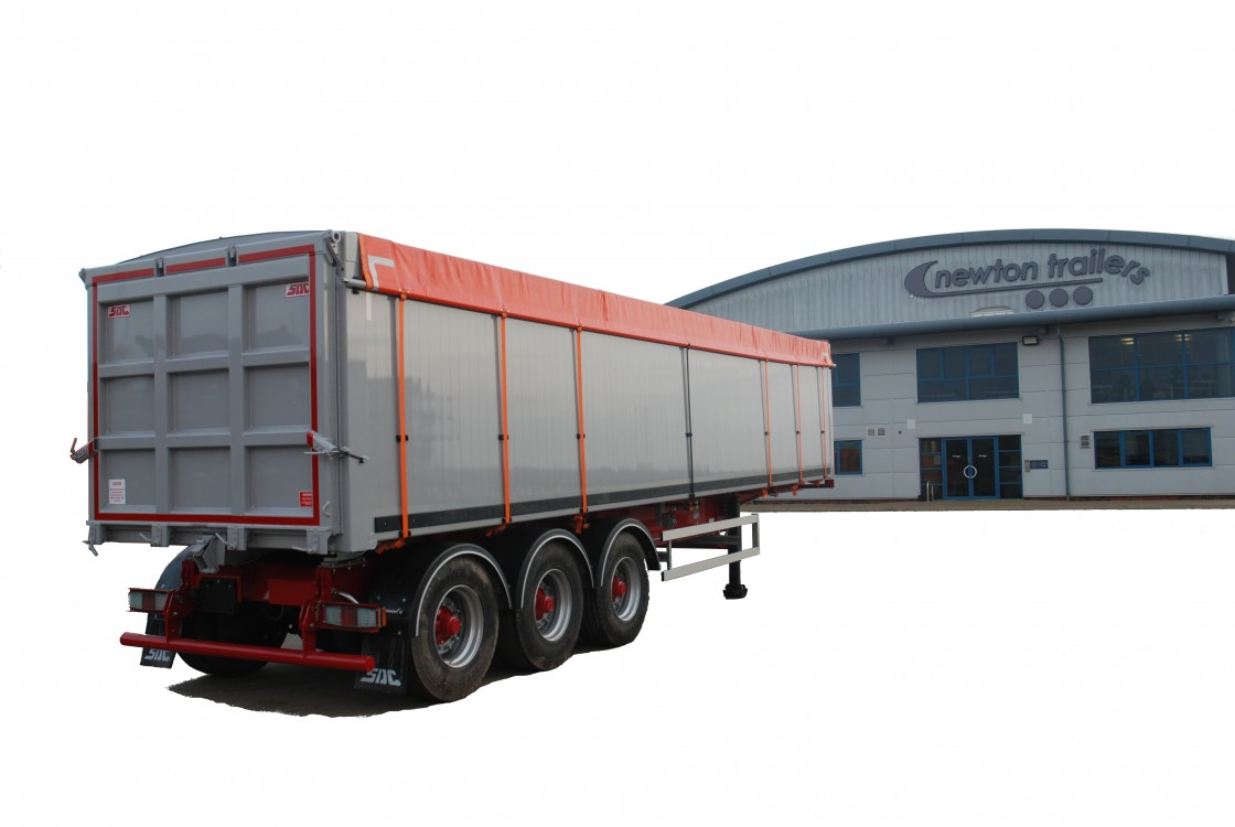 Watertight Waste Tipping Trailer