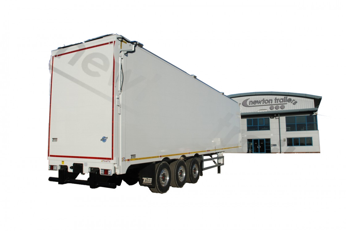 Landfill Walking Floor® Trailer - Hydraulic Door
